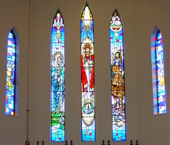Stained Glass Window Series for St-Martins Episcopal Church