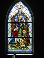 Nativity Window for Good Shepherd Episcopal Church