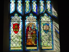 Nave Stained Glass Window Restoration for St Andrews Episcopal Church