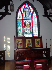 Resurrection Stained Glass Window for Good Shepherd Episcopal Church